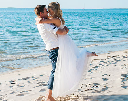 Wedding Winners on Fraser Island